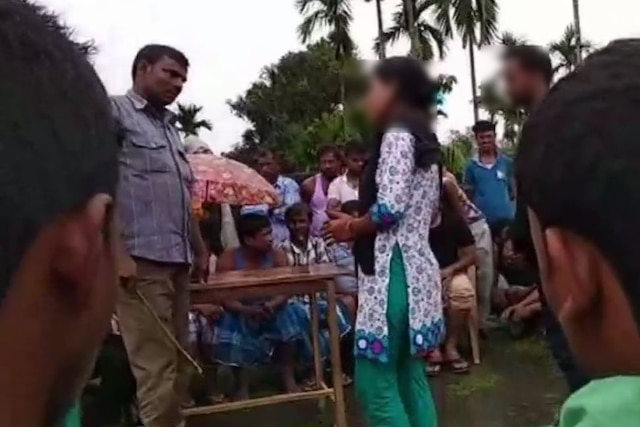 Assam: Couple brutally thrashed by mob for travelling together on bike, forced to marry