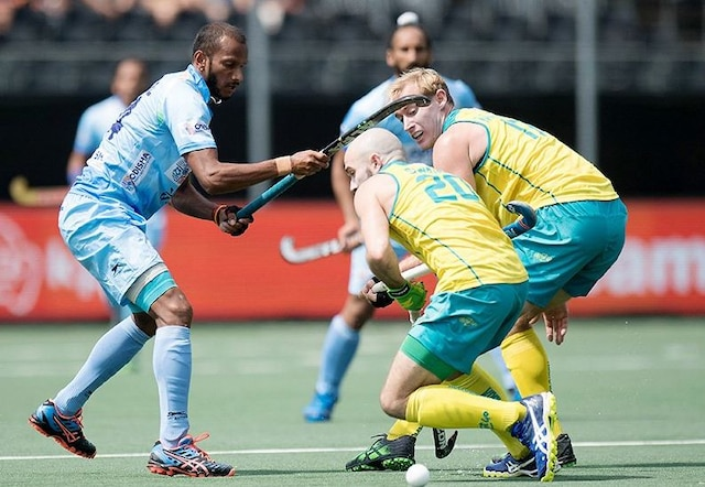 India go down fighting 2-3 to Australia in Champions Trophy hockey