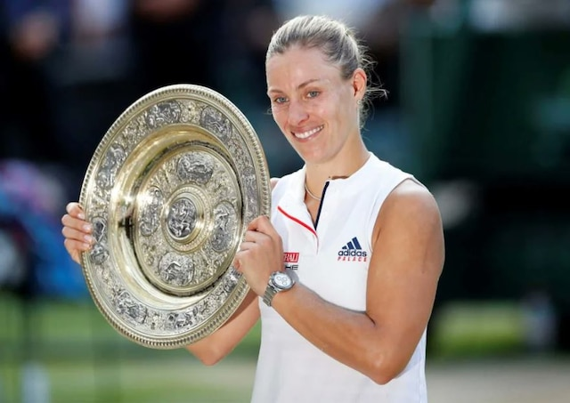 Kerber beats Serena in straight sets to wins maiden Wimbledon title
