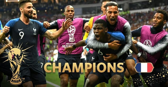 France overpower Croatia 4-2 win FIFA World Cup after 20 years
