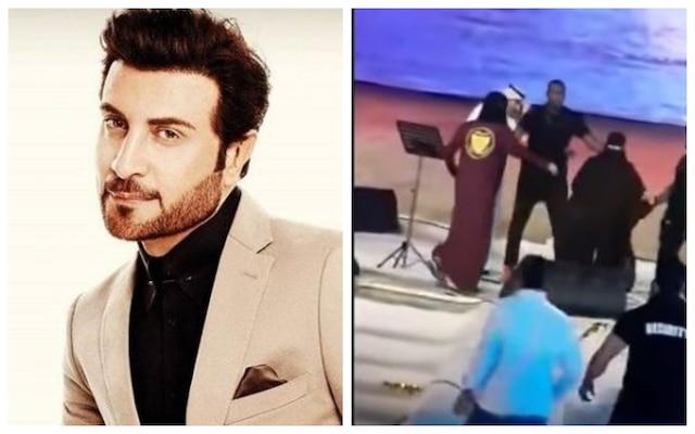 GONE VIRAL: Saudi woman hugs male singer in between his concert; gets arrested