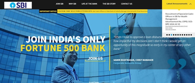 SBI PO Prelims result 2018 DECLARED! State Bank of India releases scores at sbi.co.in