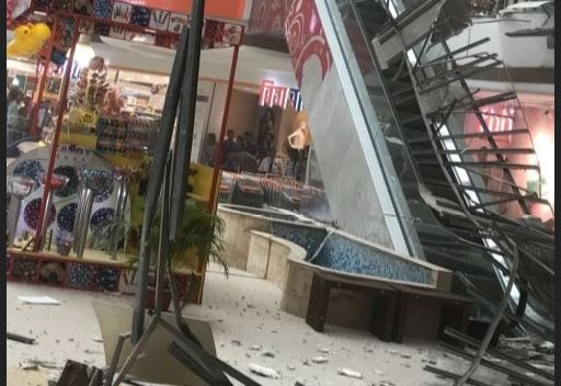 WATCH: Ceiling of Raghuleela Mall collapses in Navi Mumbai; no casualty reported