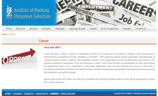 IBPS PO Recruitment Released Notification for PO Exams at ibps.in