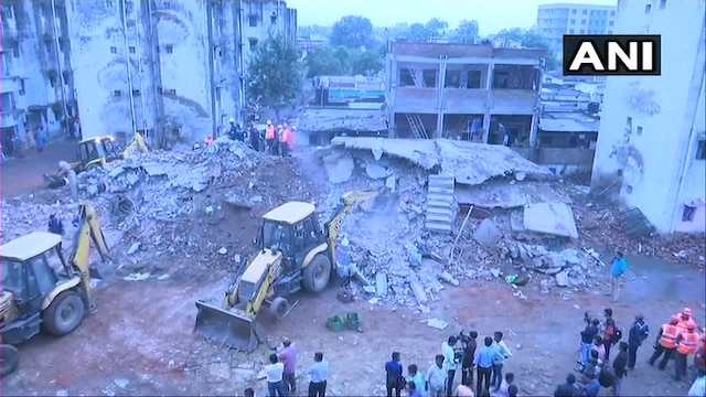 Ahmedabad: 3-storey building collapses; 1 dead, rescue operations underway