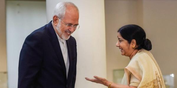 Sushma Swaraj, Iran Foreign Minister discuss US sanctions against Tehran
