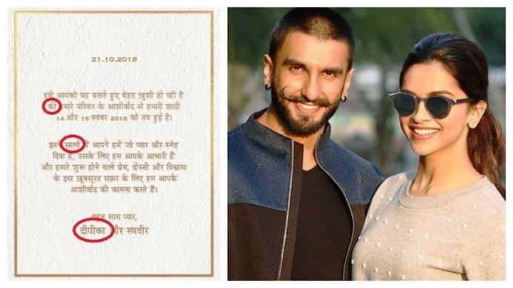 Deepika Padukone And Ranveer Singh Heavily Trolled For ...