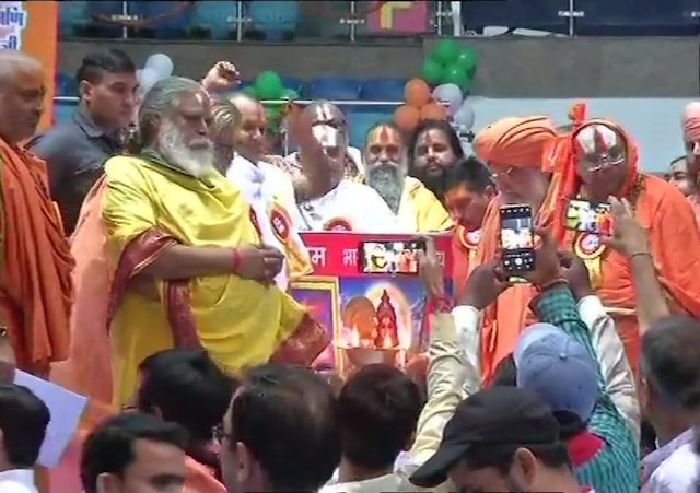3000 saints to begin their 2-day long meeting in Delhi stadium; likely to take decision on Ram Mandir issue