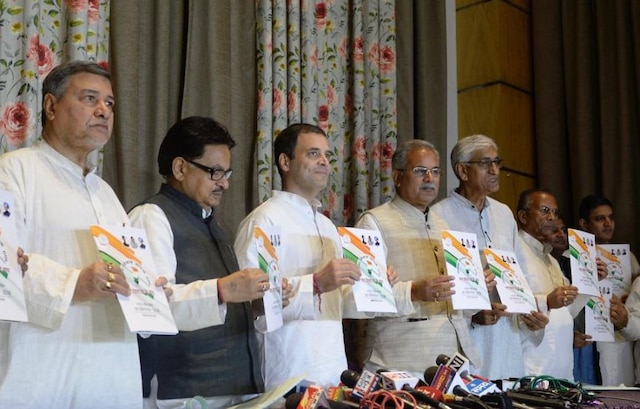 Chhattisgarh Assembly Election: Congress chief Rahul Gandhi releases manifesto 'people's manifesto'; Read all the promises made