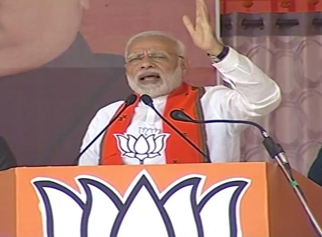 'Maa-Beta out on bail questioning demonetisation: PM Modi targets Sonia & Rahul Gandhi in Chhattisgarh's Bilaspur