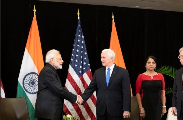 'Pakistan mainstreaming terrorists, allowing them to contest elections' PM Modi tells US' Mike Pence