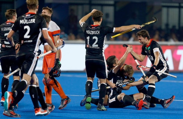 Men's Hockey World Cup 2018: Germany beat Netherlands 4-1, inch closer towards quarterfinals