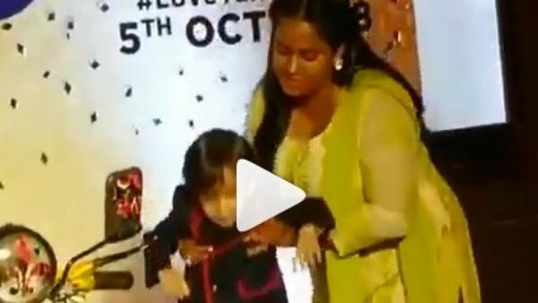 Salman Khan's nephew Ahil in a joyful mood on dad Ayush Sharma's 'Loveratri' trailer launch event!