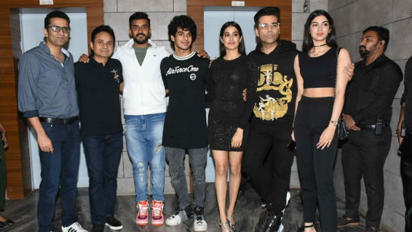 IN PICS: Dhadak Success Bash- Janhvi Kapoor, Ishaan Khatter, Karan Johar and others party hard!