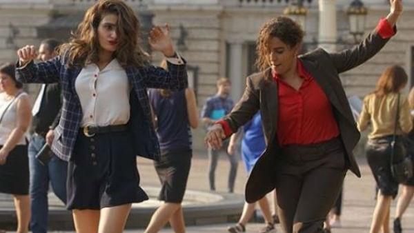 Watch: Dangal girls Fatima Sana Shaikh and Sanya Malhotra dance like nobody's watching on the streets of Europe!