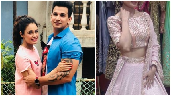 Bride-to-be Yuvika Chaudhary starts her pre-wedding preparations; looks beautiful in a lehenga (SEE PICS)