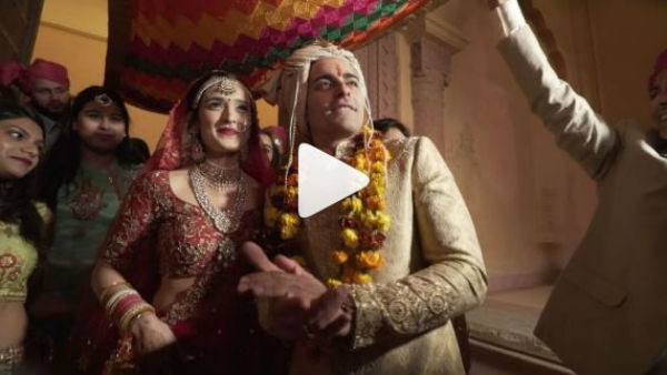 WOW! TV couple Gautam Rode and Pankhuri Awasthy share beautiful UNSEEN VIDEOS from their WEDDING celebrating 8 months anniversary!