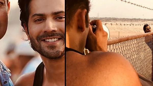 Bharat: Salman Khan turns photographer for Varun Dhawan during film's shoot in Abu Dhabi