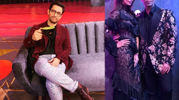 Koffee With Karan 6: Aamir Khan shoots for Karan Johar's show solo, his rapid fire judged by Malaika Arora Khan