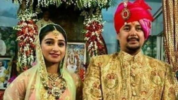 PIC: Yeh Rishta Kya Kehlata Hai actress Mohena Kumari Singh aka Keerti gets ENGAGED in a royal ceremony!