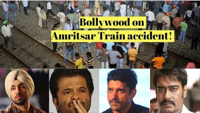 Amritsar train accident: Ajay Devgan, Anil Kapoor, Diljit Dosanjh,Farhan Akhtar & other Bollywood celebs mourn the tragic deaths!