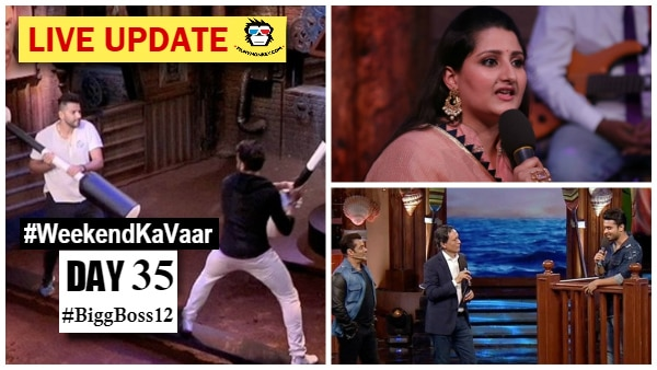 Bigg Boss 12 Weekend Ka Vaar LIVE Updates: Contestants' family members grilled; Sreesanth vs Romil in Sultani Akhada, another EVICTION