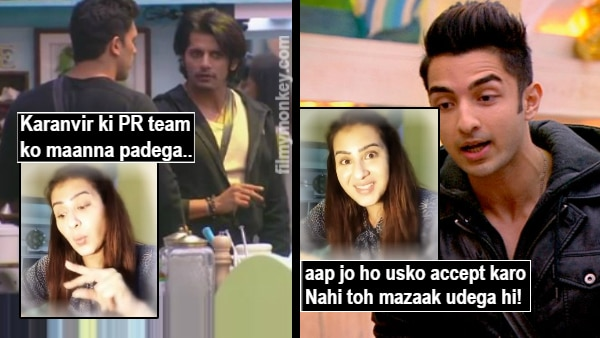 Bigg Boss 12 Shilpa Shinde Defends Sreesanth Says Karanvir