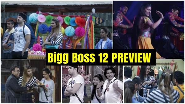 Bigg Boss 12 Day 46 PREVIEW: Contestants celebrate Diwali mela; Sana Khan, Sapna Choudhary ENTER BB 12 house
