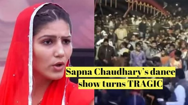 1 DEAD & several INJURED at Sapna Chaudhary's dance show in Bihar during Chhath Puja [INSIDE VIDEOS]