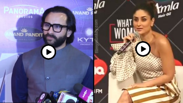 Saif feels happy when wife Kareena calls him 'beautiful'; VIDEOS INSIDE!