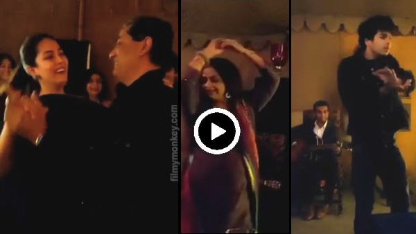 Mira Rajput dances with her Dad on his 60th Birthday party, Mom-in-law Neelima & bro-in-law Ishaan shake a leg too!