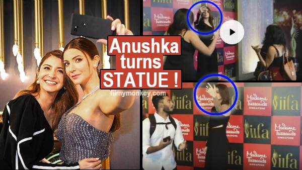Anushka Sharma turns prankster, poses as her wax statue at Madame Tussauds Singapore leaving fans shocked!