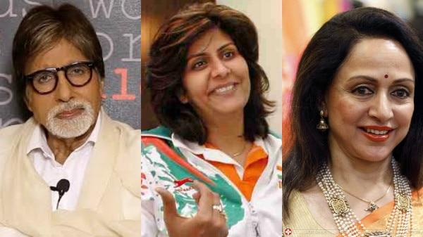 Big B, Hema congratulate Deepa Malik for winning silver at Paralympics