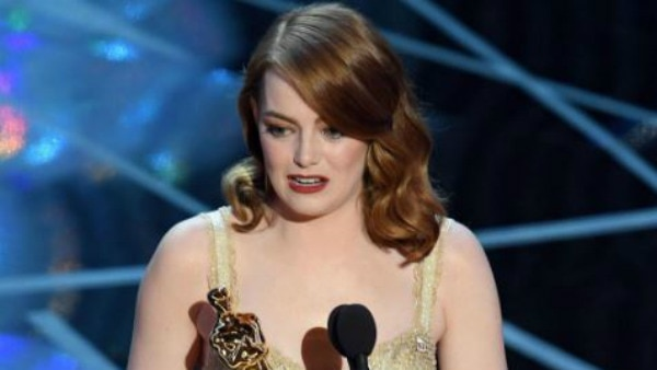 Emma Stone bags her first Oscar for Best Actress!