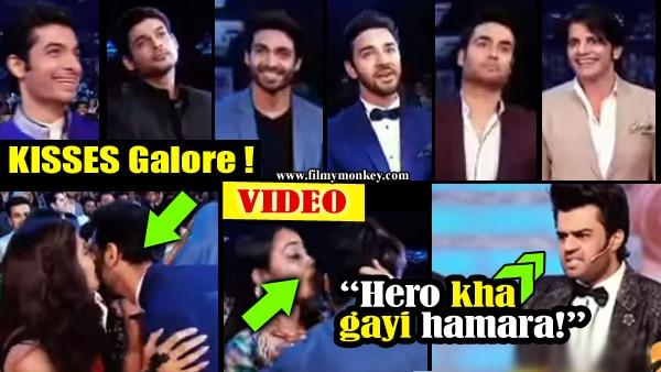 Colors GPA 2017: Video: KISSING challenge for TV stars Vivian Dsena, Karanvir Bohra, Ssharad Malhotra, Sidharth Shukla!