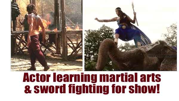 Aarambh: Rajniesh Duggal learning martial arts & sword fighting for his tough looking role!
