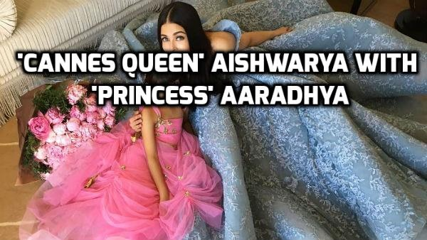 PICTURE PERFECT! This NEW PHOTO of Aishwarya posing with daughter Aaradhya at Cannes 2017 is BREAKING THE INTERNET!