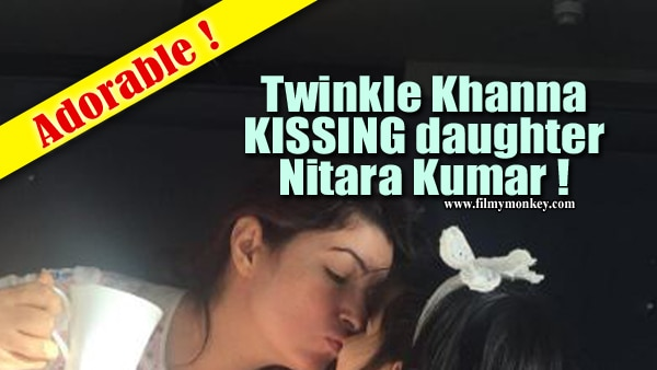 Twinkle Khanna shares an adorable pic kissing daughter Nitara on London trip!