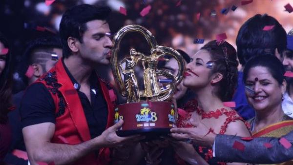 CONGRATULATIONS! PIC: Divyanka Tripathi & Vivek Dhaiya WIN #NachBaliye8; Beat Sanaya-Mohit & Sanam-Abigail in Grand FINALE!