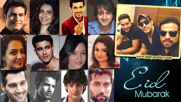 WOW! 'Yeh Hai Mohabbatein' actor spreads message of peace by wishing Pakistan fans a Happy Eid; Non-muslim celebs excited about celebrations too!