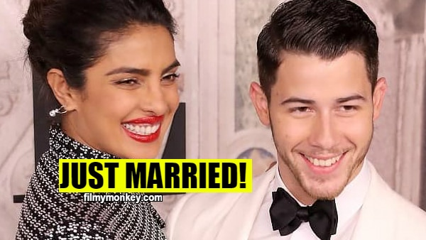 Priyanka-Nick MARRIED now in Christian wedding ceremony with the FIRST KISS of bride & groom!