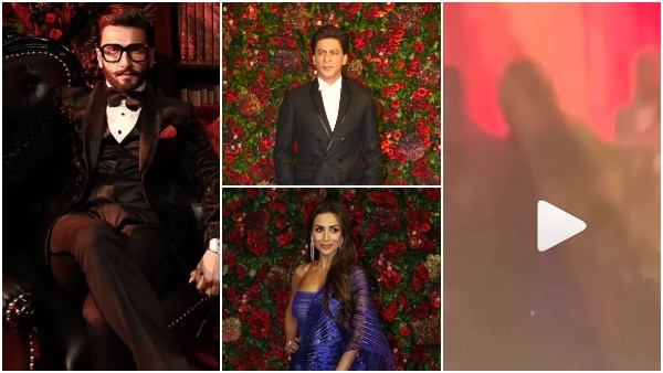 DeepVeer Mumbai Wedding Reception: Ranveer burns the dance floor with SRK & Malaika on 'Chaiyya Chaiyya' (VIDEO INSIDE)