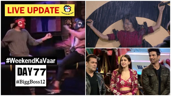 Bigg Boss 12 Weekend Ka Vaar Day 77 Highlights: Rohit vs Romil in Sultani Akhada; Eviction twist, another interesting task & a lot more!