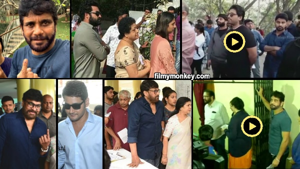 Telangana Elections 2018: South stars Chiranjeevi, Mahesh Babu, Nagarjuna, Allu Arjun, Junior Ntr add glitz to polls