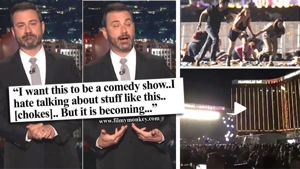 VIDEO: Jimmy Kimmel breaks into tears while speaking about Las Vegas shootings