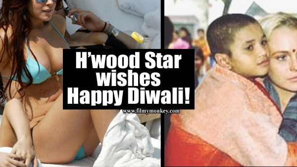 Hollywood actress Lindsay Lohan reminisces about India visit on Diwali