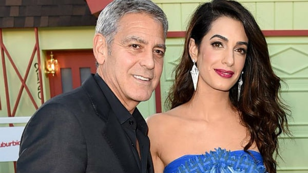 George Clooney afraid of breaking his four-month-old TWIN BABIES!