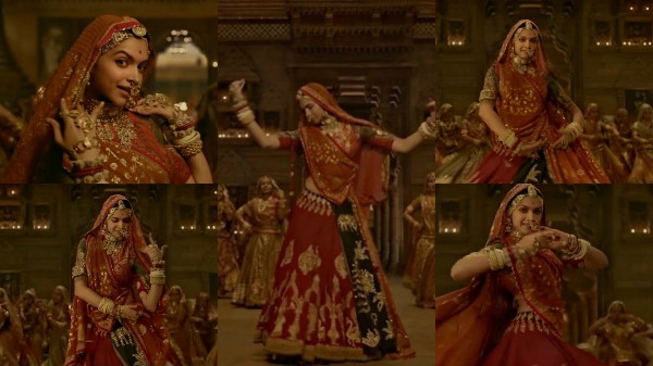 WATCH: Padmavati FIRST song Ghoomar out now! Deepika ...