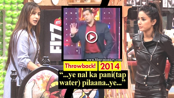 Bigg Boss 11: The throwback video from BB 8 proves Salman will blast Hina over tap water issue she raised with Shilpa