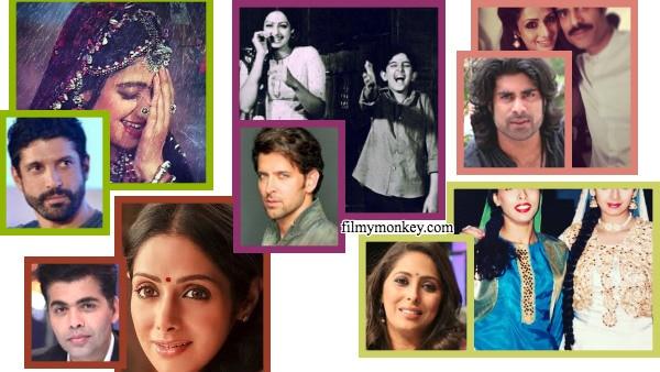 RIP Sridevi: Bollywood celebs Hrithik, Farhan, Geeta recall their first memories with Sridevi with UNSEEN PICS